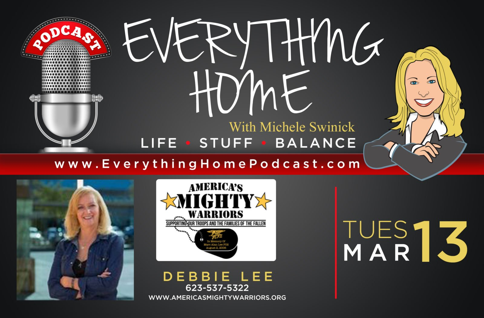 PODCAST AD - DEBBIE LEE - MARCH 13