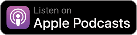 apple podcast - black