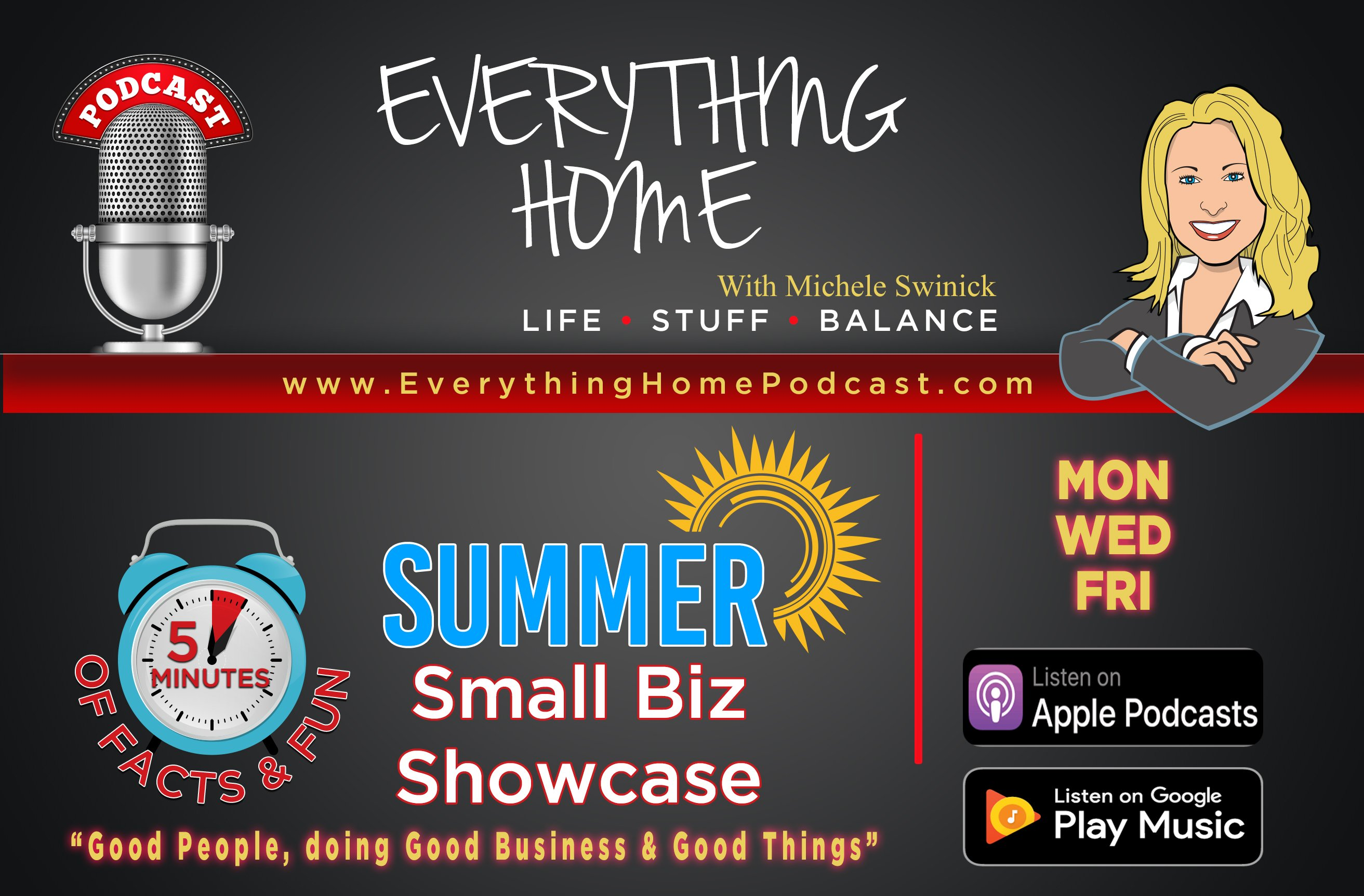 EVERYTHING HOME PODCAST - SUMMER SMALL BIZ SHOWCASE