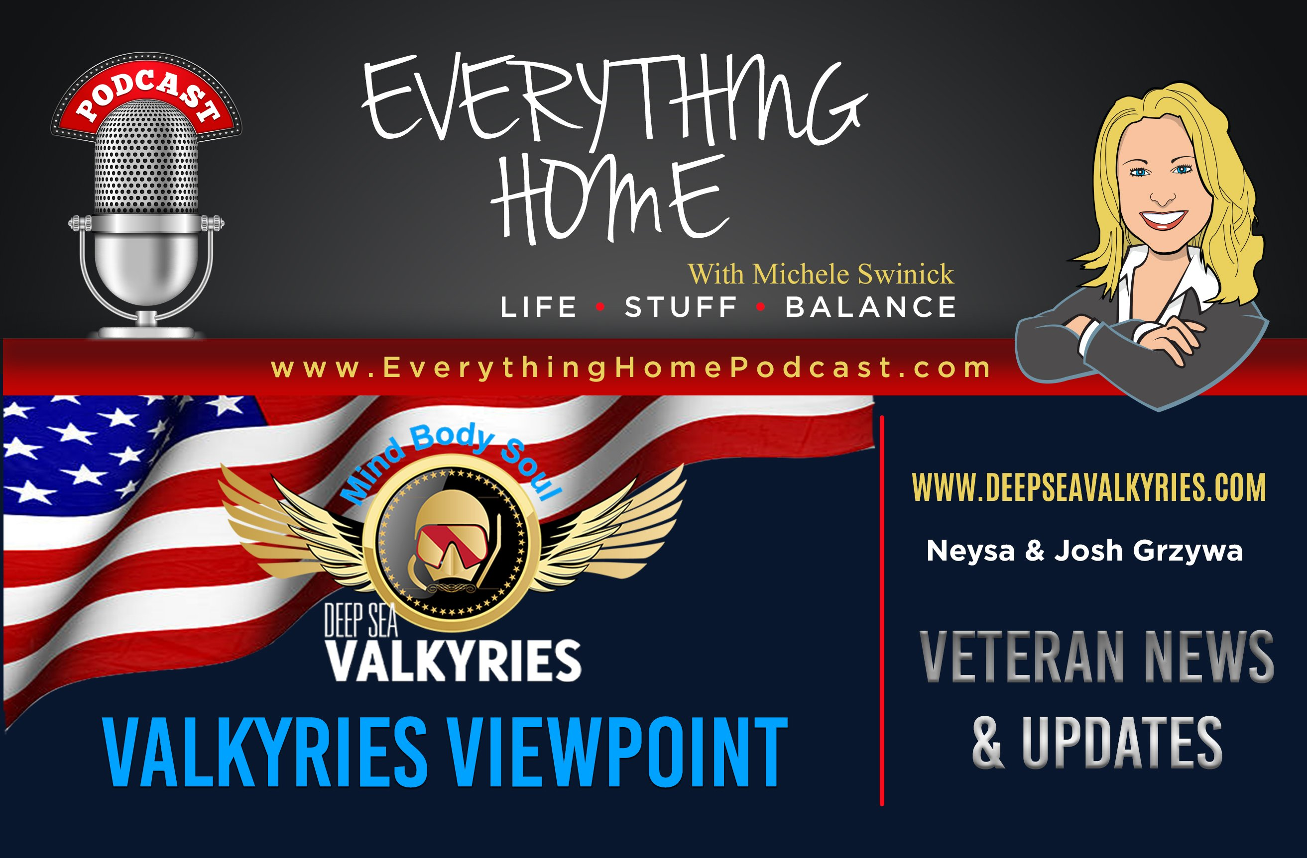 EVERYTHING HOME PODCAST - VALKRYIES VIEWPOINT
