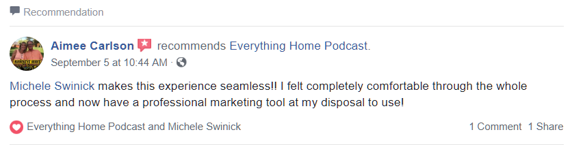Aimee Carlson - Everything Home Podcast #1