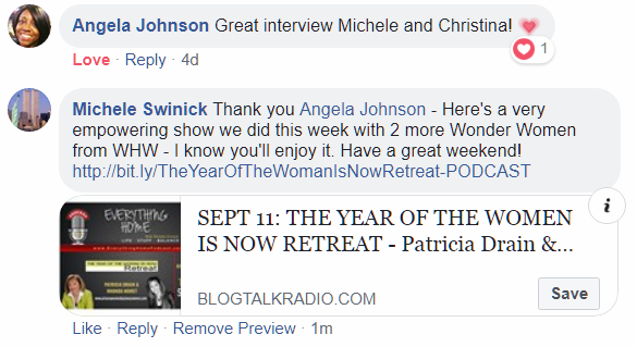 Angela Johnson - Christina Rowe Show