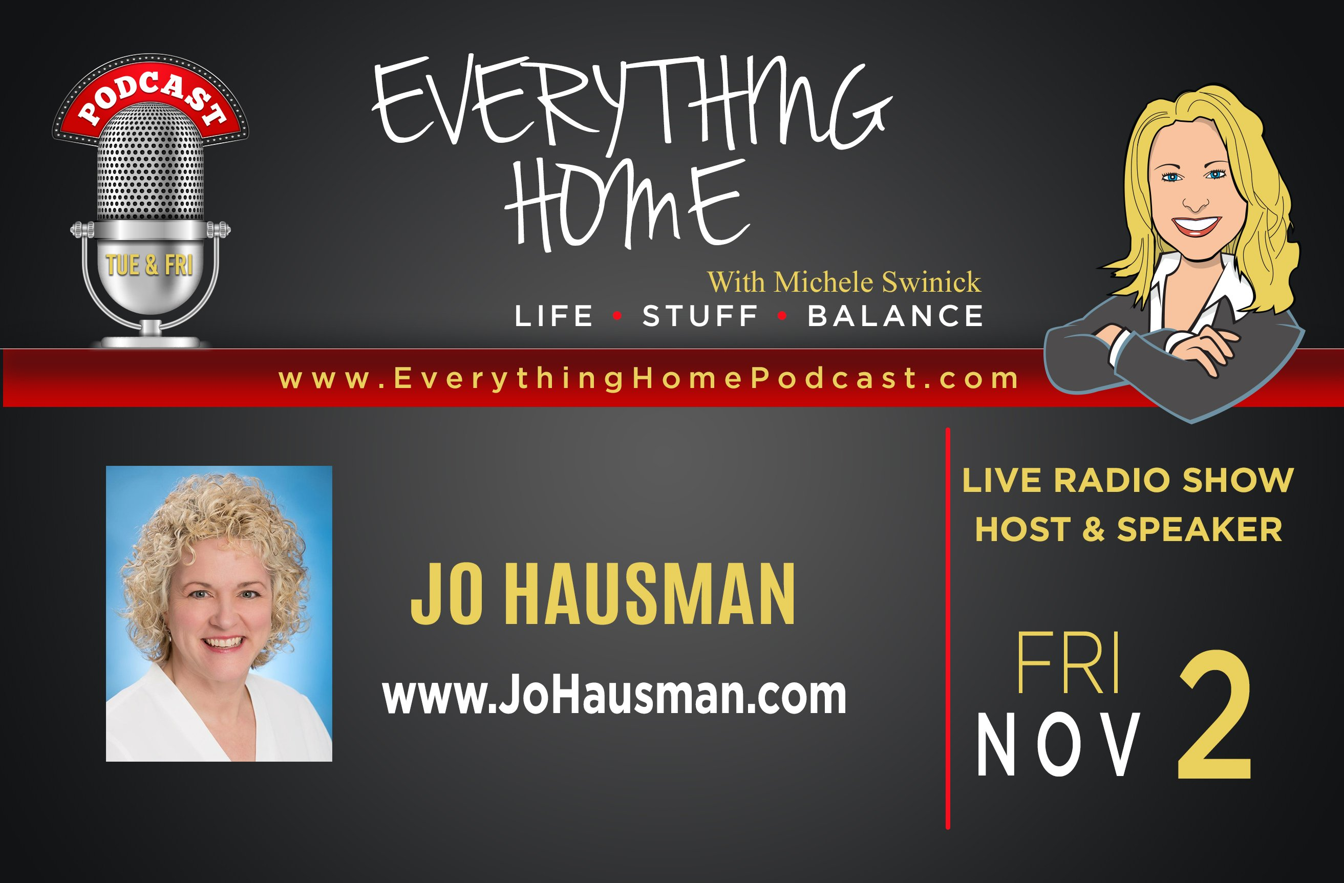 Everything Home Podcast - Jo hausman - Ad Banner - NOV 2