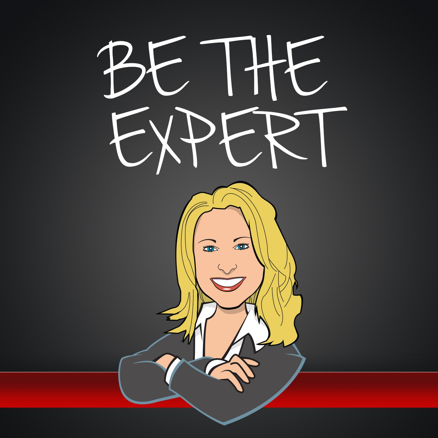 BE THE EXPERT - COVER ART