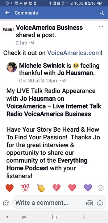 VoiceAmerica post share - need to crop 2