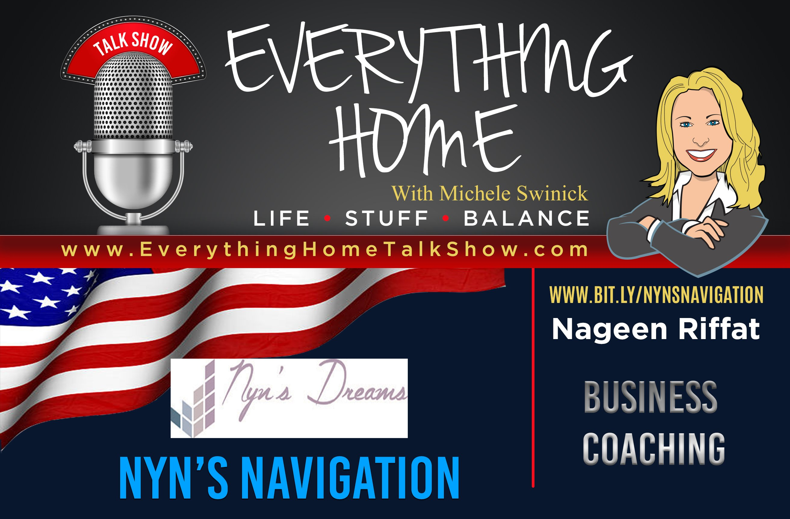 EVERYTHING HOME PODCAST - EXPERT CONTRIBUTOR - NYN'S NAVIGATION - AD BANNER