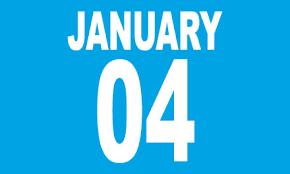 jan 4 date
