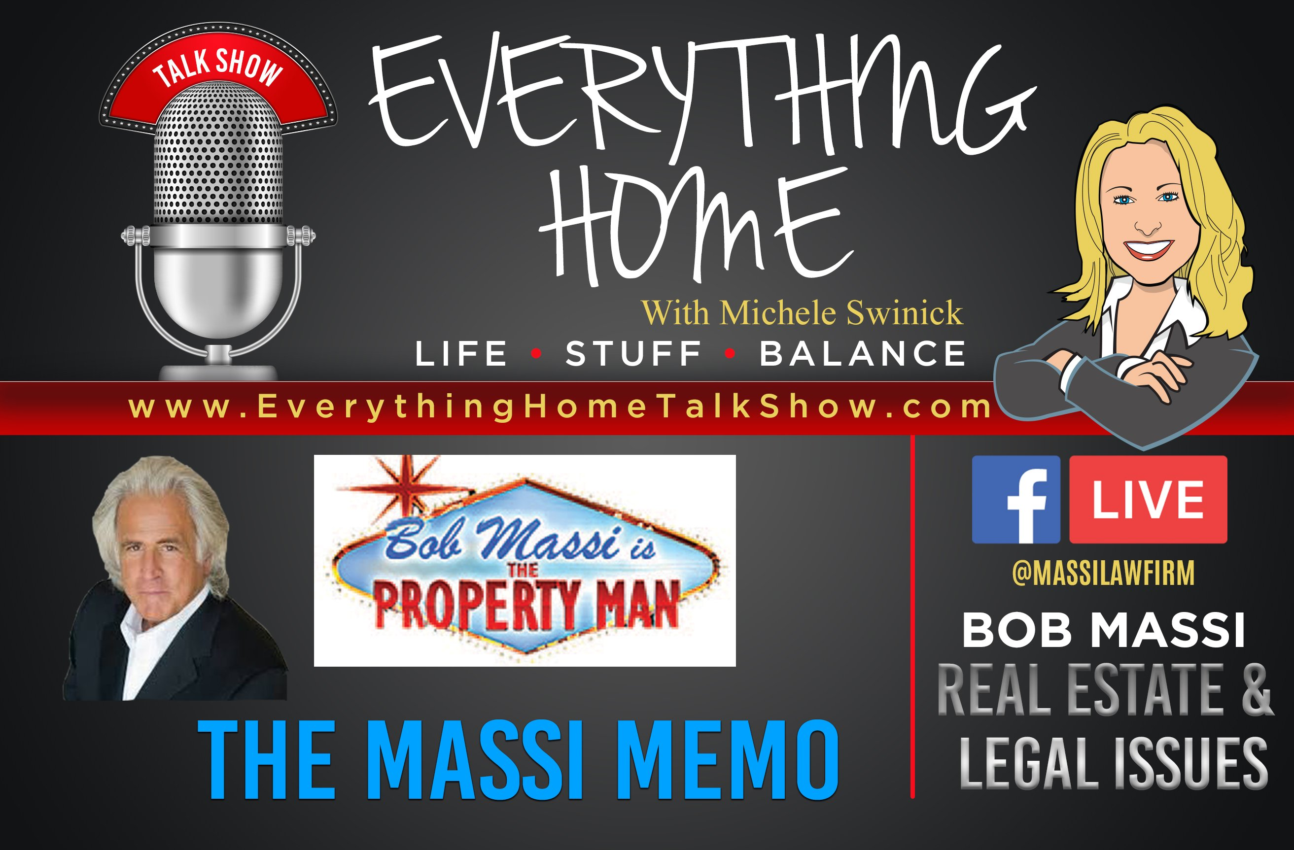 Everything Home Talk Radio Show & Podcast - The Massi Memo - Bob Massi - BANNER