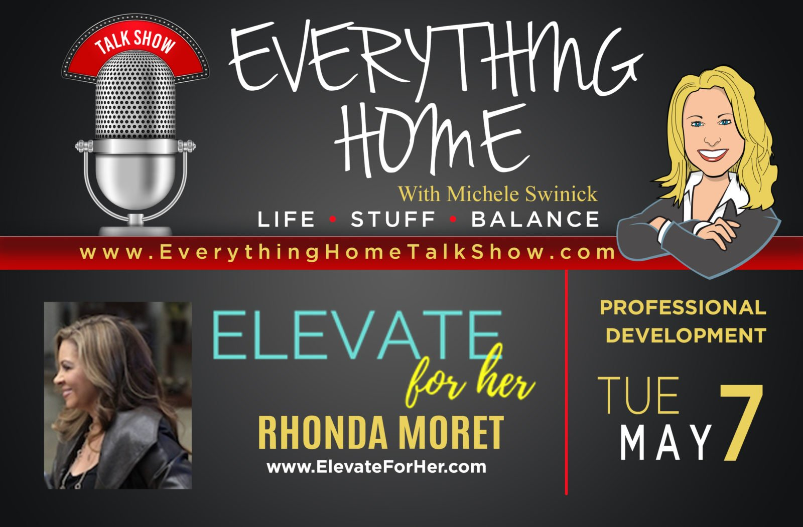 Everything Home Talk Radio Show & Podcast - Rhonda Moret - May 7, 2019 - Promo Banner