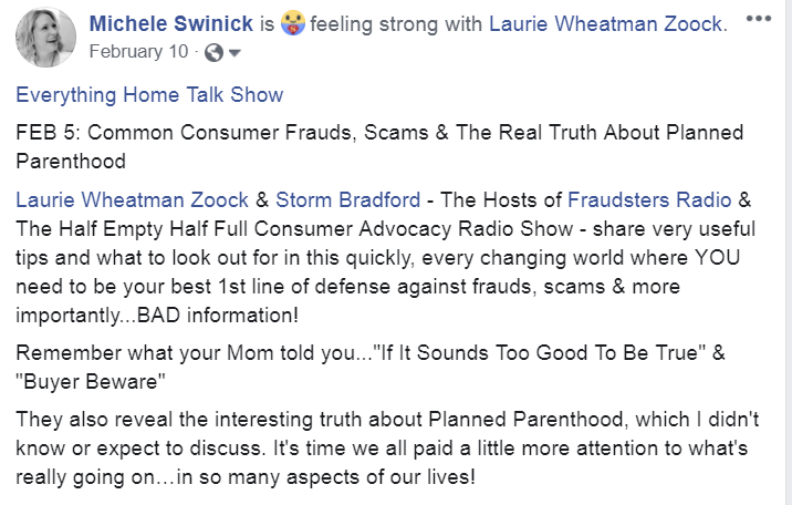 Laurie Z - show write up