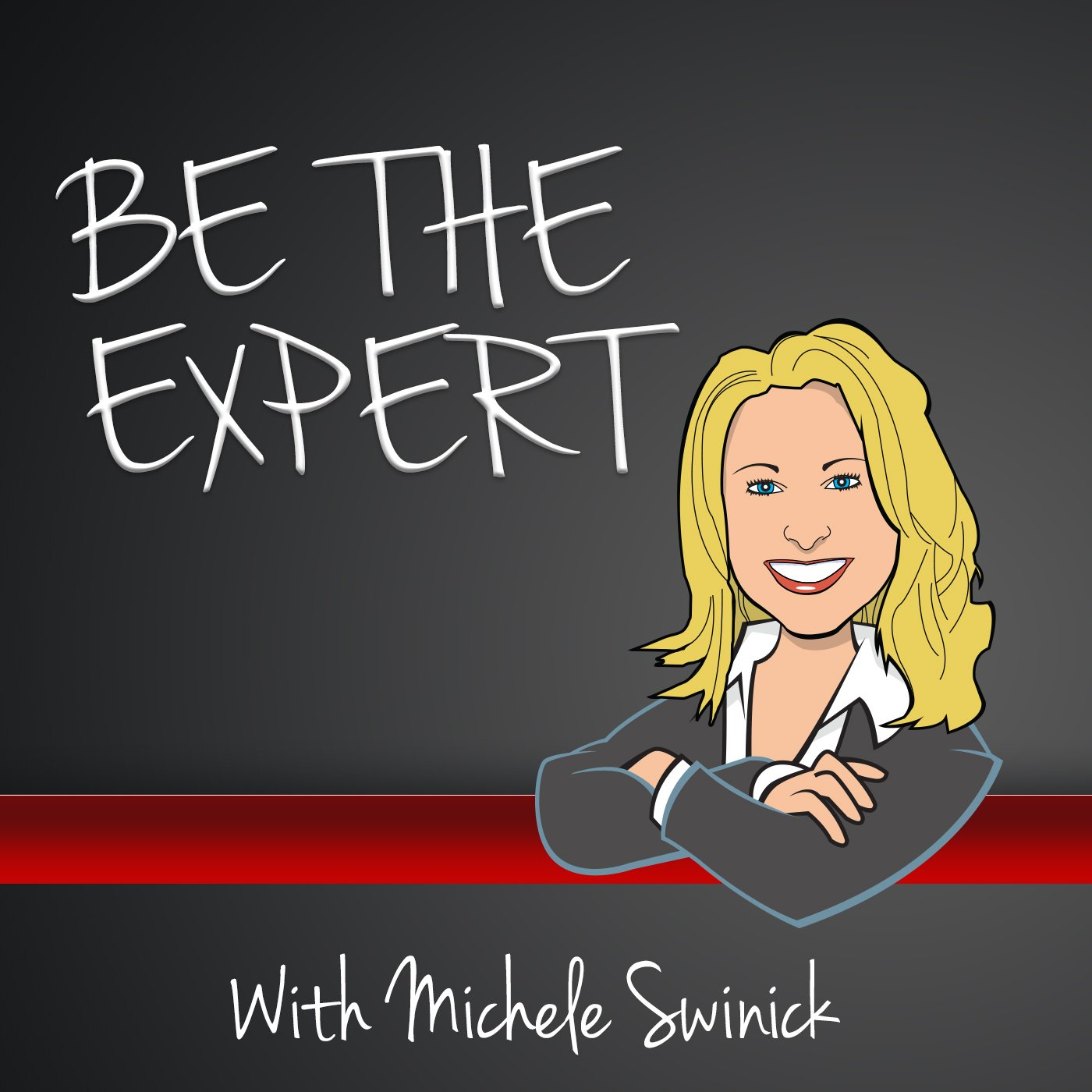 MKT - MICHELLE SWINCIK - BE THE EXPERT - COVER ART