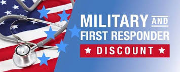 military & 1st - discounts - NFL