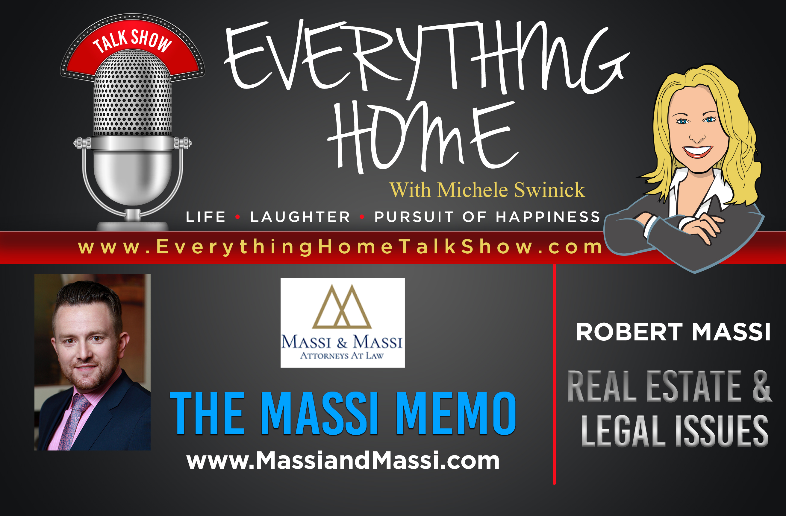#96: Legal Issues - Life Changing Advice & Laughs - 10 Topics That Touch Everyone
