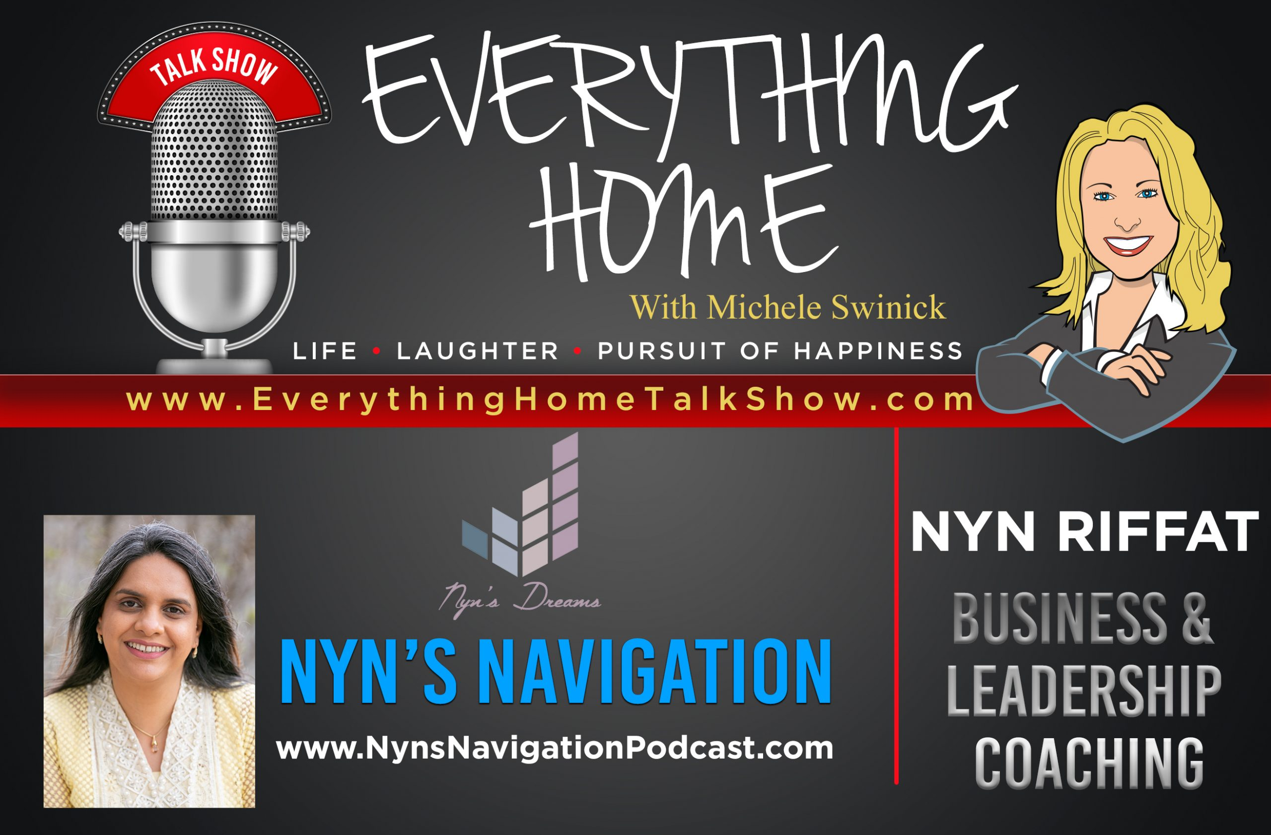 EVERYTHING HOME TALK SHOW - EXPERT CONTRIBUTOR - NYN'S NAVIGATION - AD BANNER