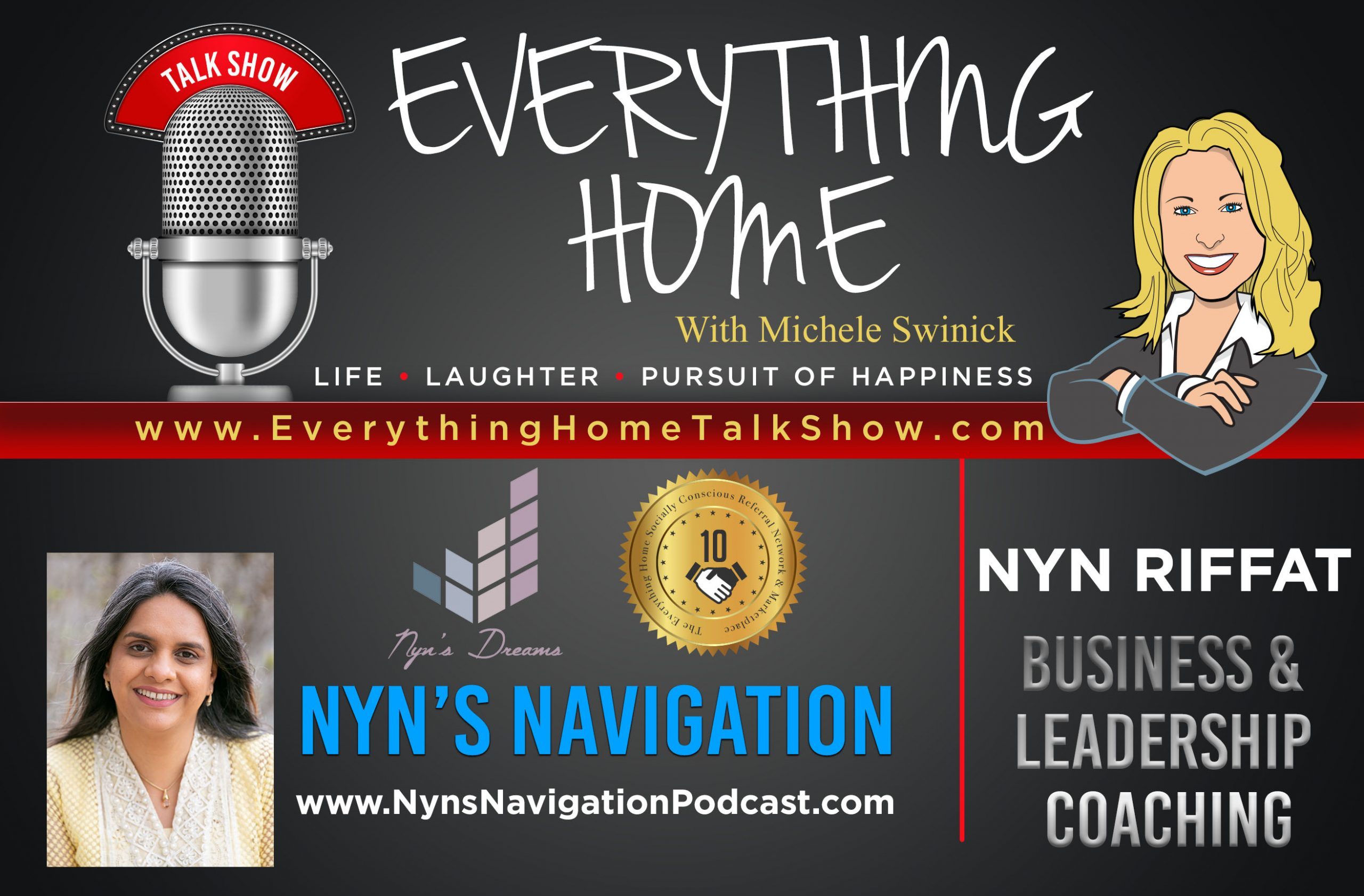 EVERYTHING HOME TALK SHOW - EXPERT CONTRIBUTOR - NYN'S NAVIGATION - PROMO BANNER