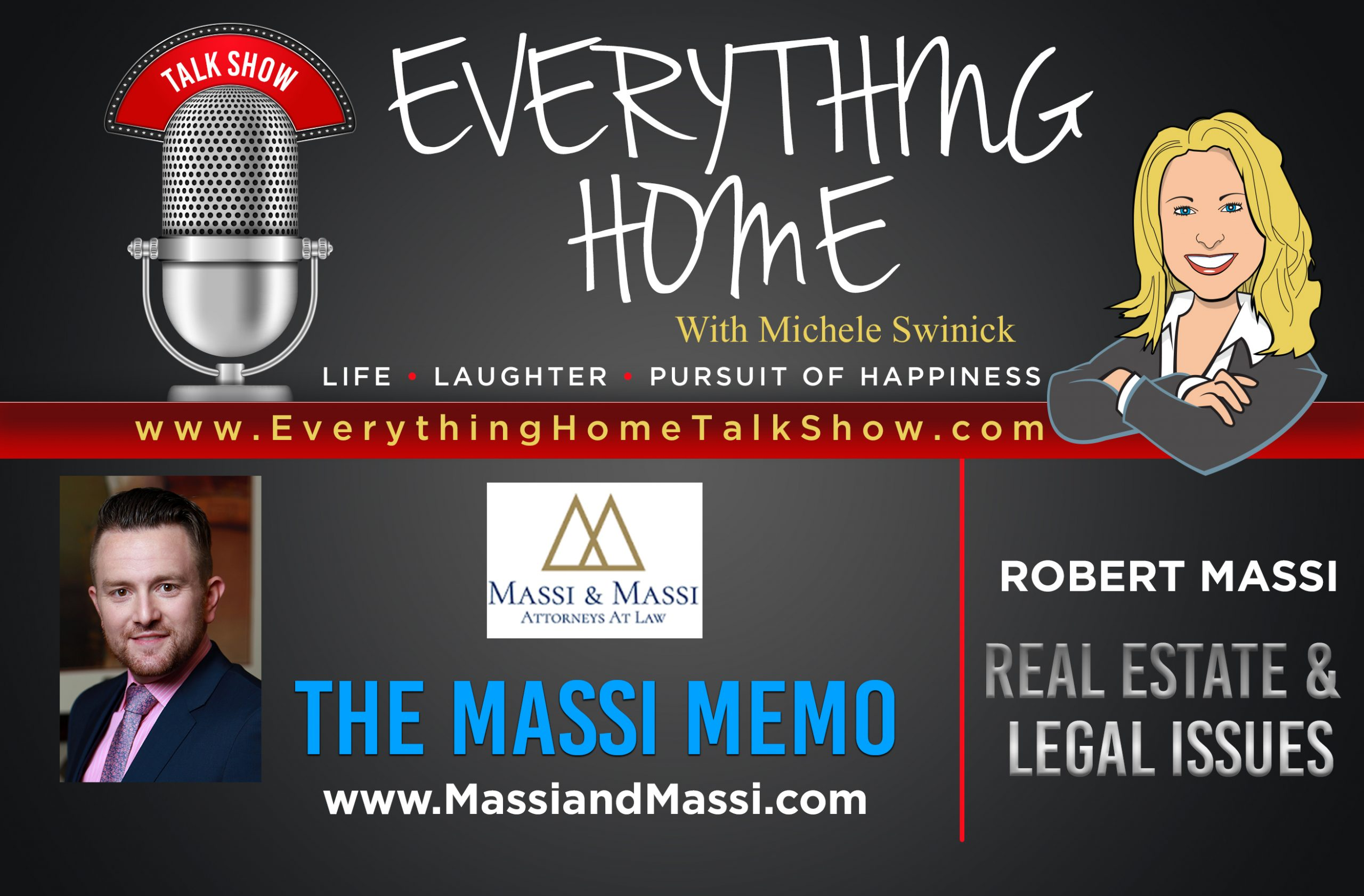 Everything Home Talk Radio Show & Podcast - THE MASSI MEMO - Robert Massi - BANNER