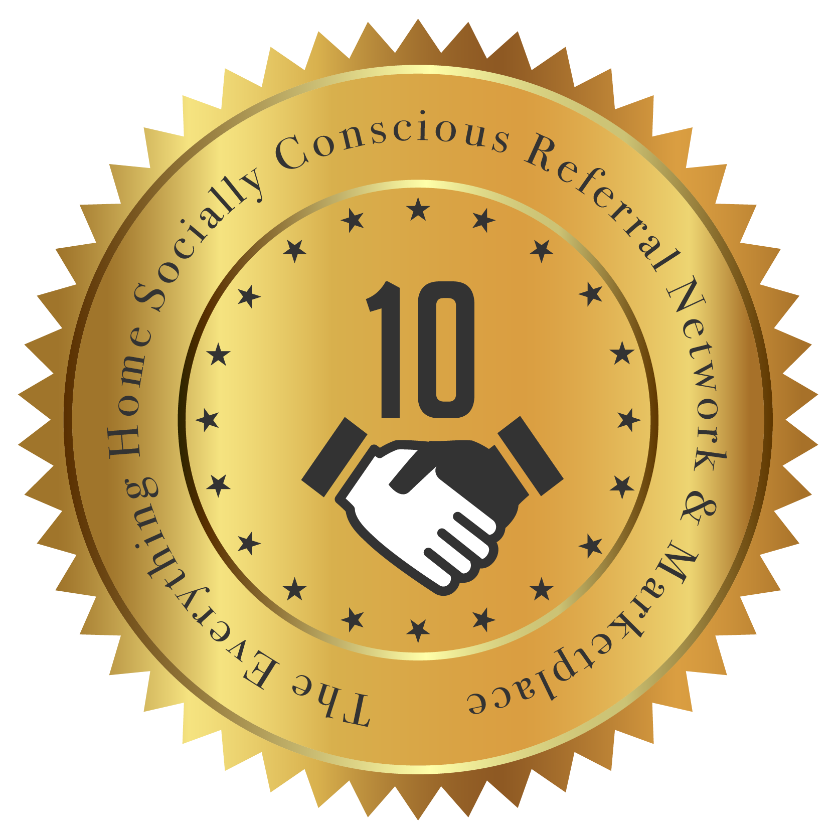 The Everything Home Socially Conscious Referral Network & Marketplace Seal - 10