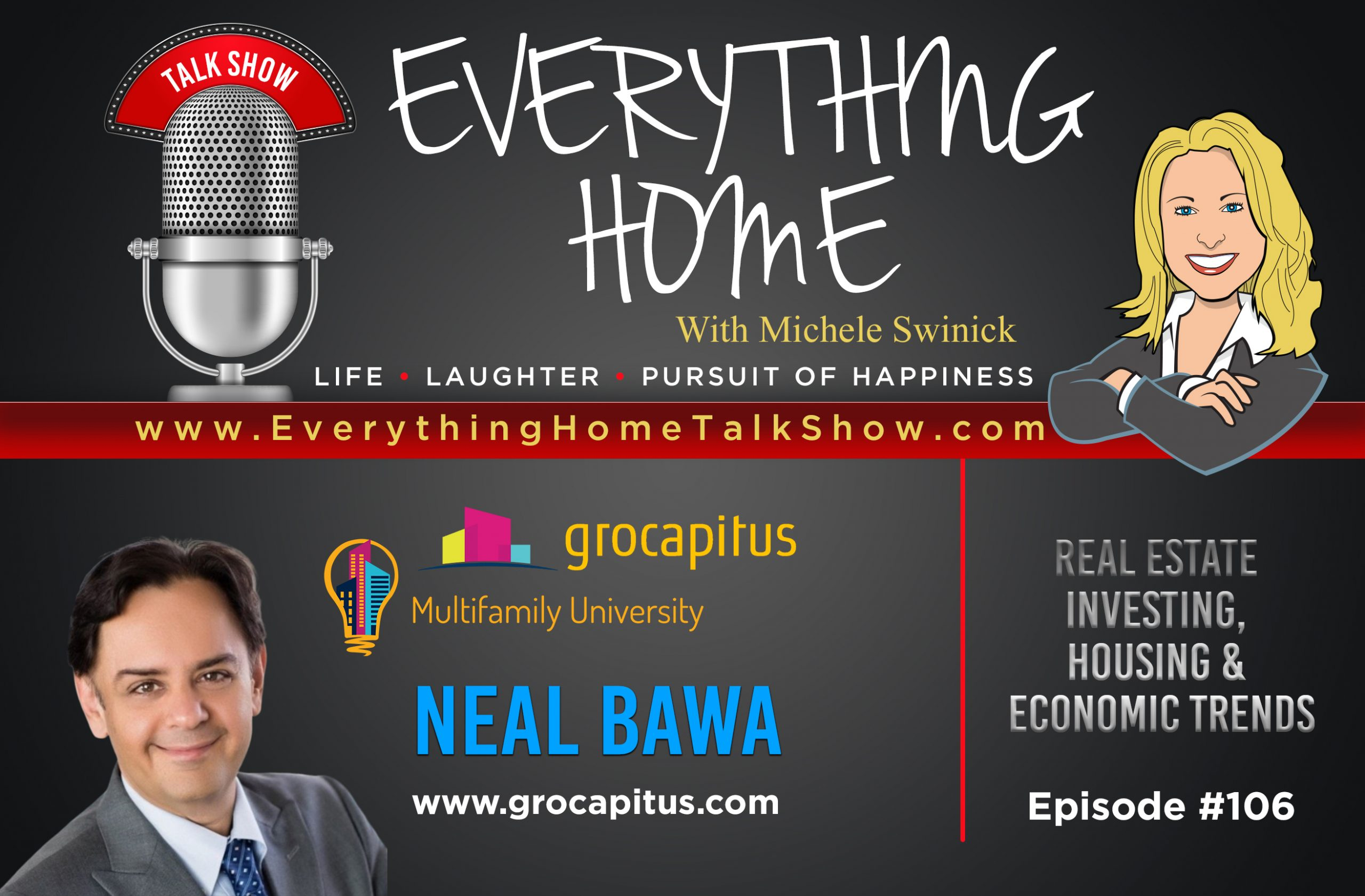 #106 - Economic, Housing & Real Estate Investing Trends