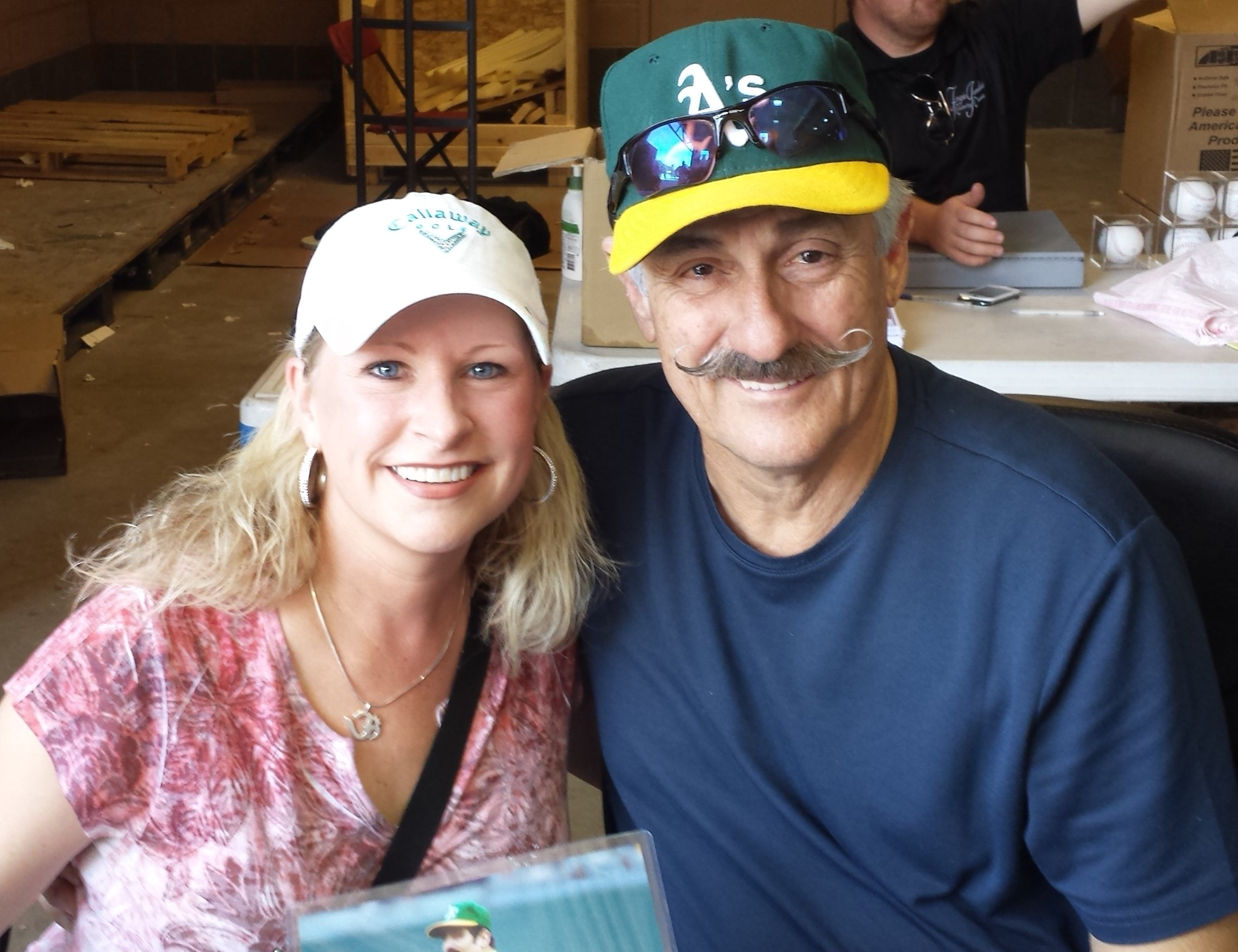 Rollie Fingers & Michele