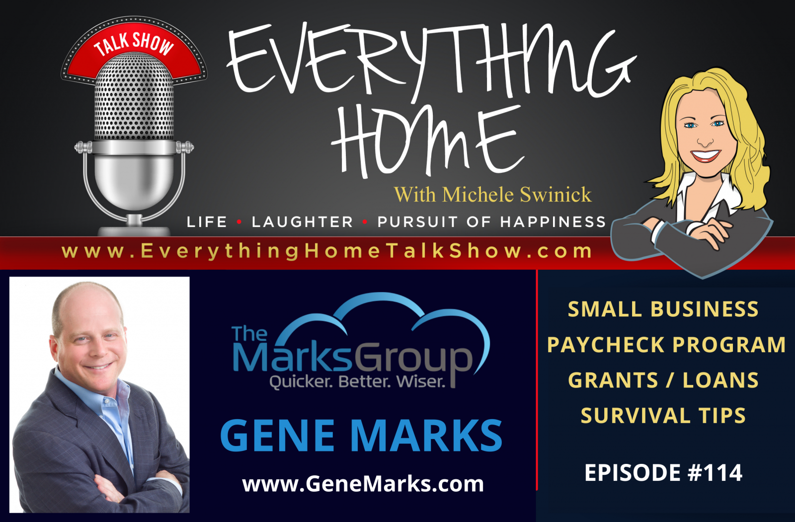 #114 - Small Business Paycheck Program & How To Survive With Expert Gene Marks CPA