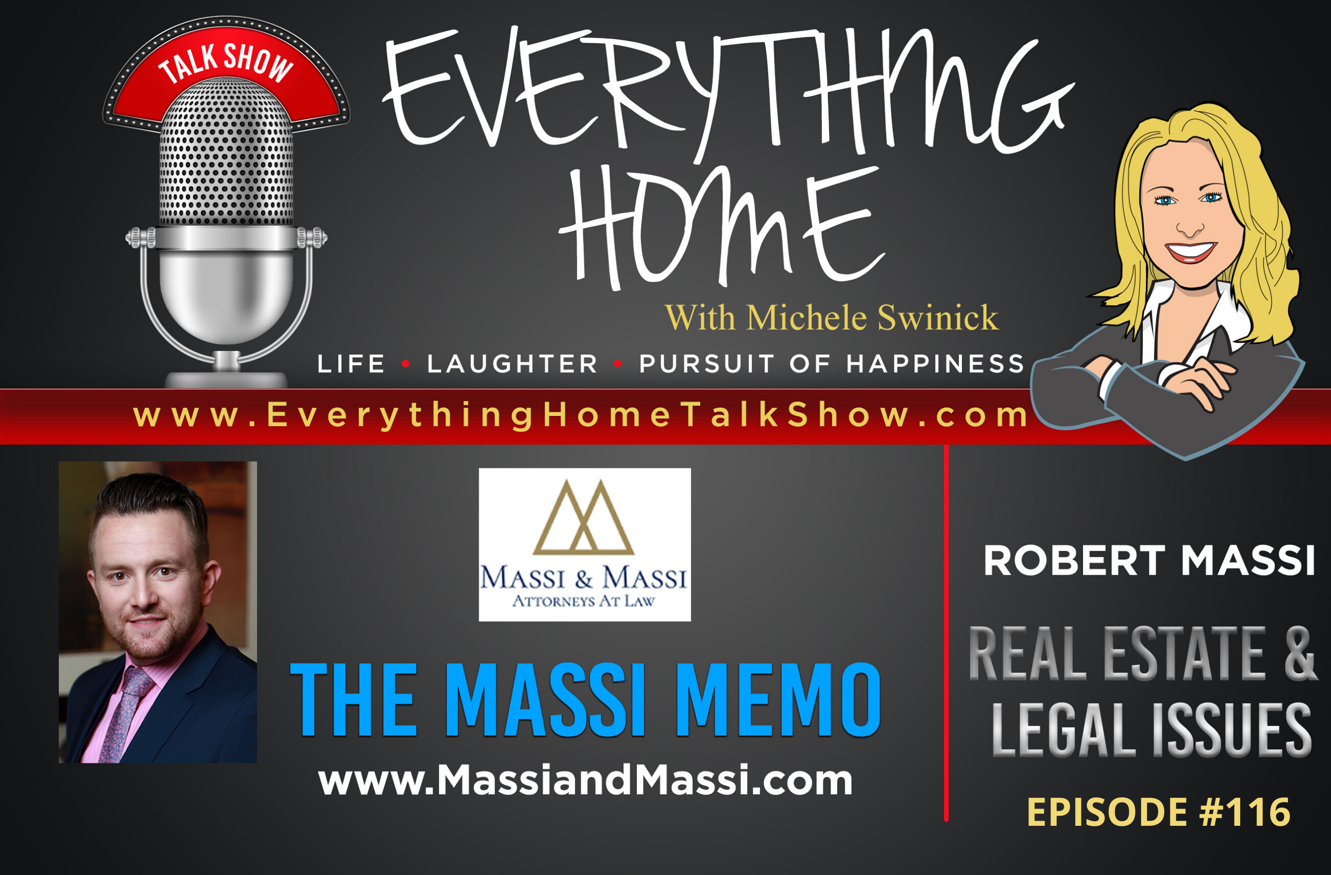 #116 - Life After Coronavirus - Liabilities, Litigation, Lifestyle & Lysol - Robert Massi & The Massi Memo