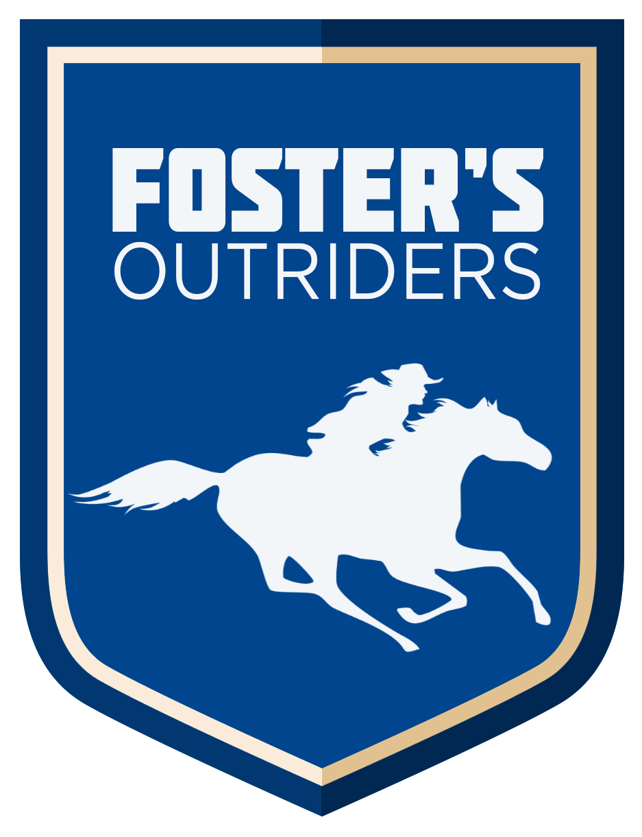 Fosters Outriders - Logo updated