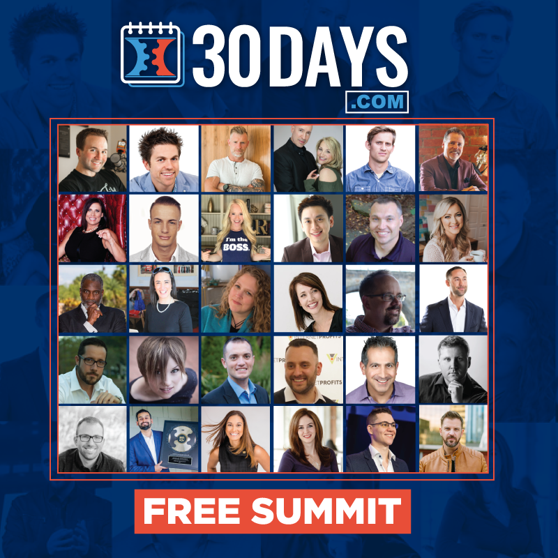 click funnels 30 day summit