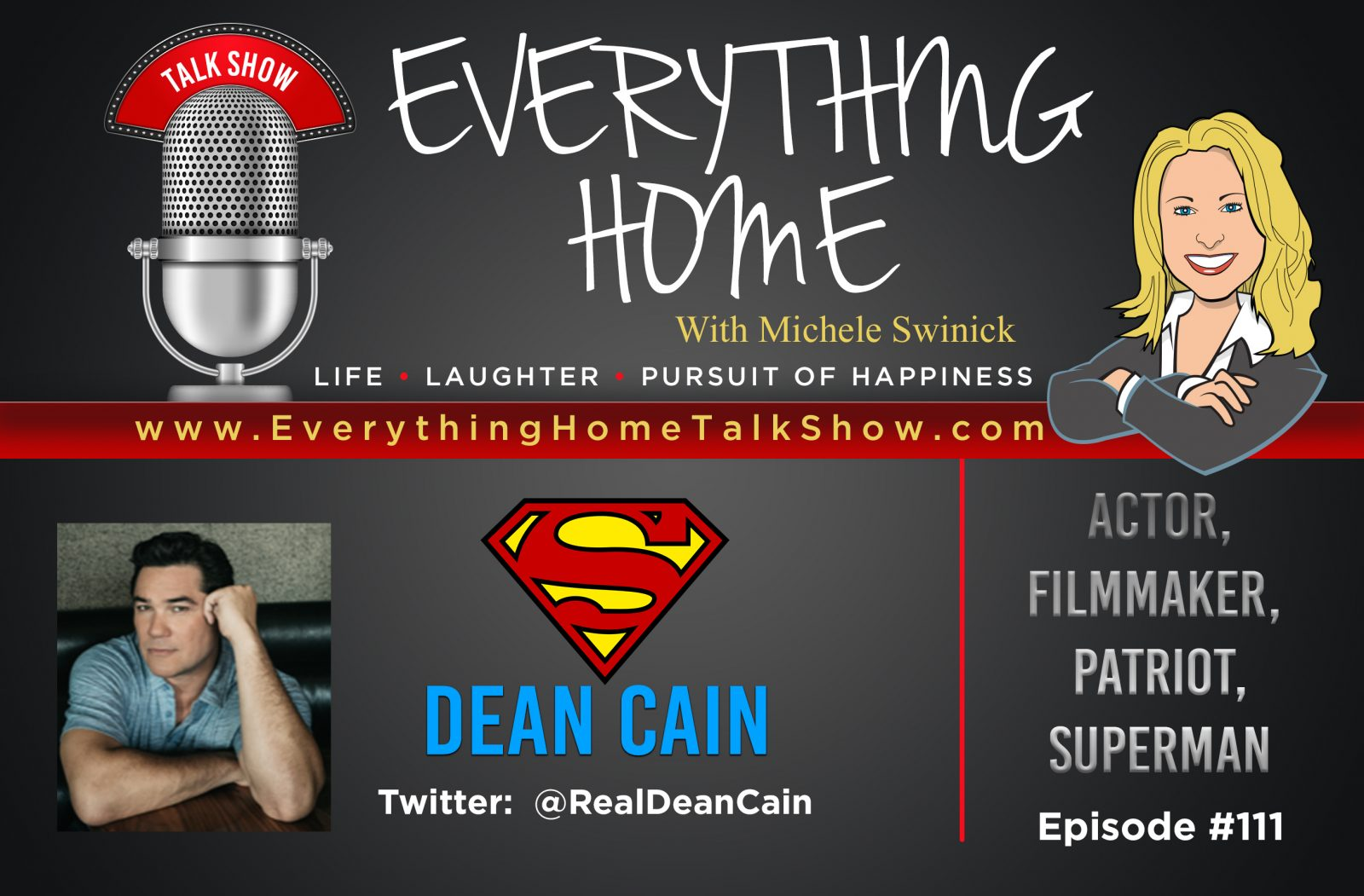 Everything Home - Dean Cain - Promo Banner