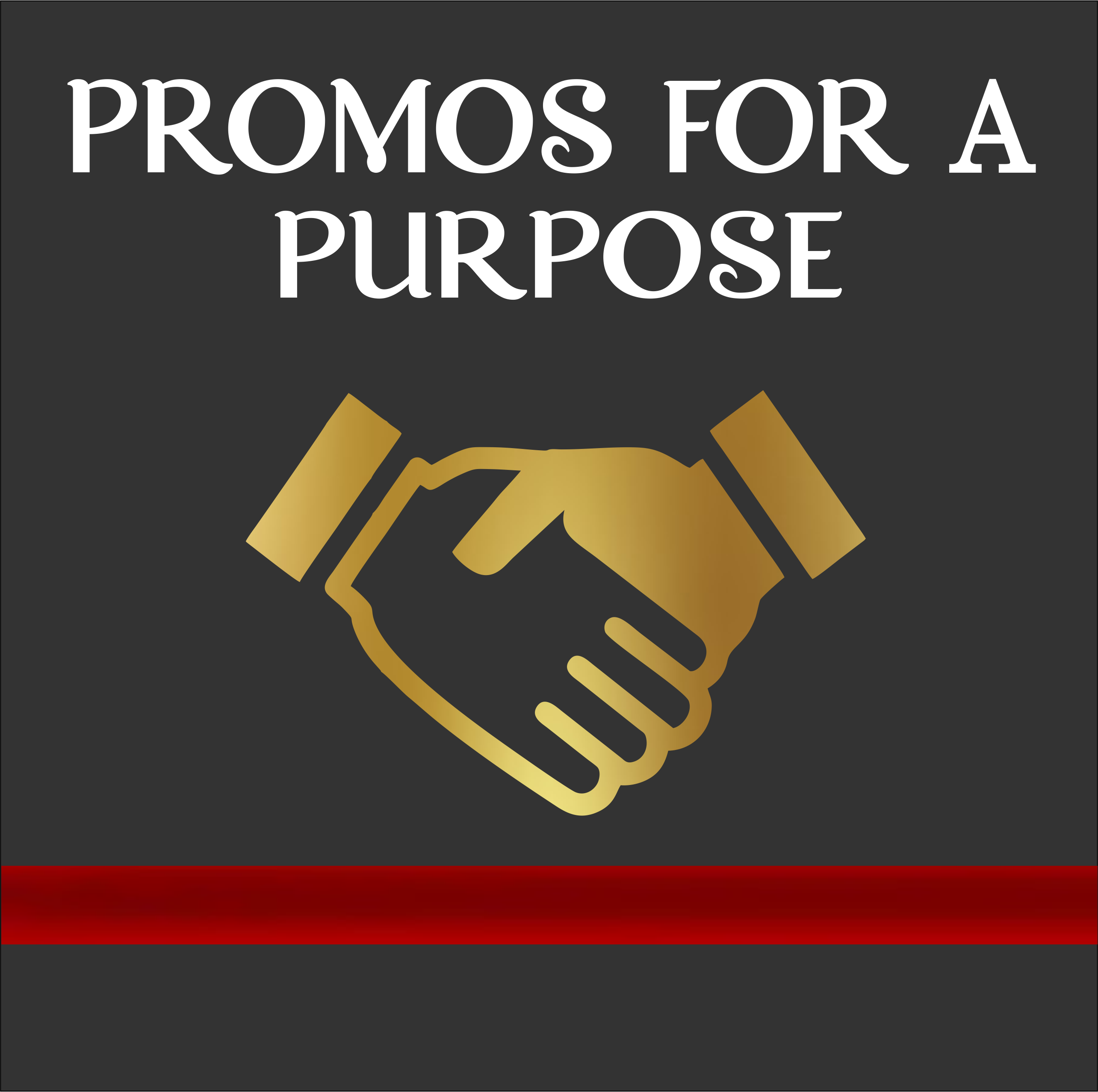 Promos For A Purpose - Logo